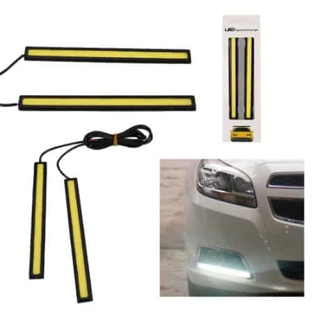 Φώτα Ημέρας Αυτοκινήτου Slim High Power 12W COB LED Daytime Running Lights – OEM